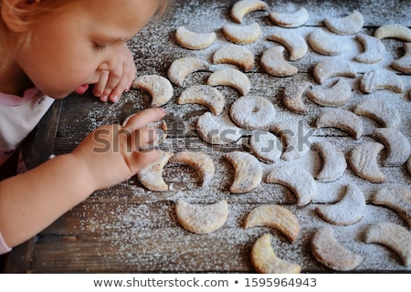 Cookies sprinkled with powdered sugar Stock photo © grafvision