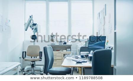 Krankenhaus medizinischen Illustration Ansicht Stock foto © derocz