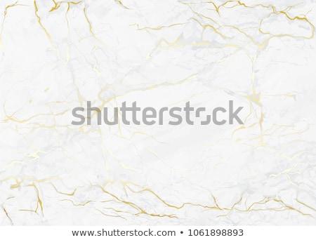 Márvány textúra fehér arany névjegy terv Stock fotó © SArts