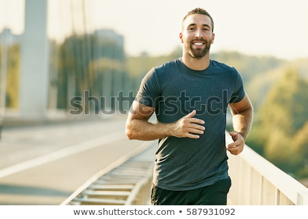 Healthy man Stock photo © pressmaster
