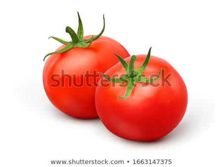 ökör · szív · paradicsomok · piros · fehér · étel - stock fotó © boroda