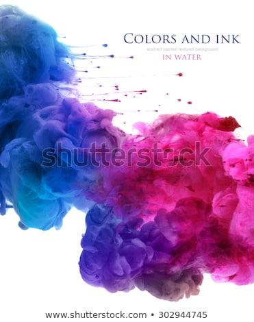 Stockfoto: Abstract · kleurrijk · rook · patroon · witte · licht