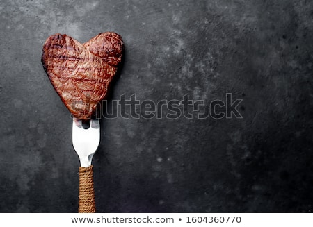 Meat Heart Stock photo © fizzgig