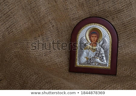 Guardian Angel Byzantine Art Stock photo © rognar