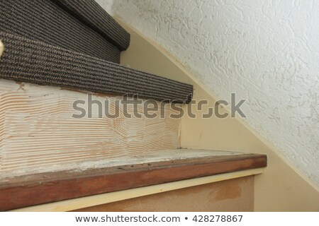 Laborer laying carpet Stock photo © photography33