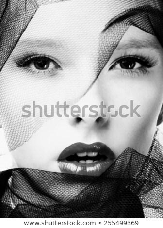 Glamour And Beauty Subtle Make-up Stock photo © stryjek