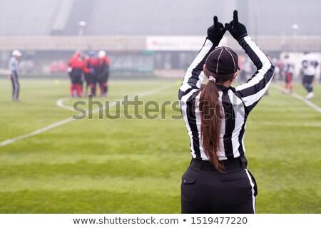 Kadın hakem kadın saç genç eğitim Stok fotoğraf © photography33