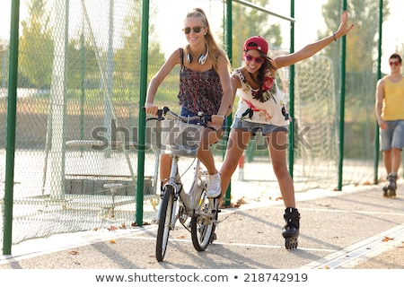 Foto d'archivio: Donna · equitazione · imprenditrice · business · felice · sport