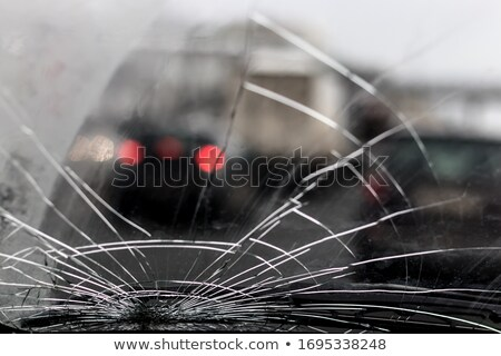 Smashed windscreen Stock photo © russwitherington