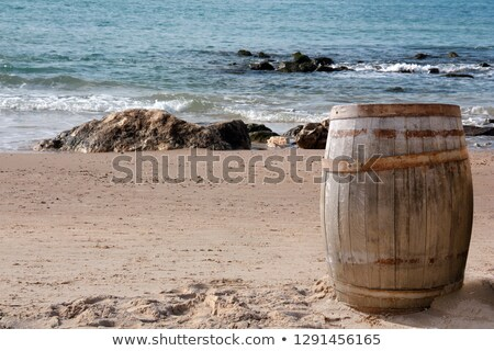 Rum Kegs stock photo © emattil