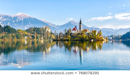 bled with lake slovenia europe stock photo © fesus