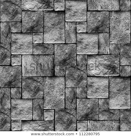 gránit · sóder · közelkép · textúra · építkezés · absztrakt - stock fotó © byjenjen