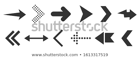 arrow shaped spiral elements stock photo © sylverarts