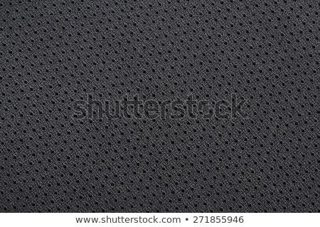 Black Jersey Mesh stock photo © grivet
