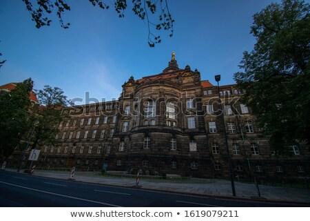 Gothic Belfry In Dresden Stock photo © cosma