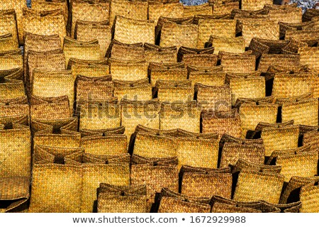 空っぽ ブラウン バスケット 自然 竹 ストックフォト © JohnKasawa