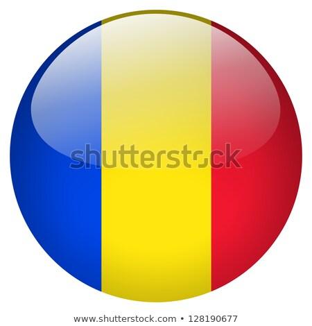стекла · кнопки · флаг · Румыния · красный · лук - Сток-фото © maxmitzu