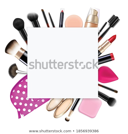 Lip gloss. Square composition. Stock photo © moses