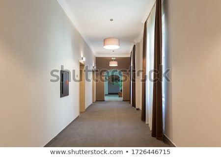 hotel`s corridor Stock photo © luckyraccoon