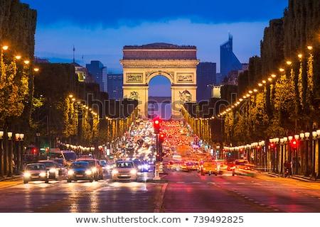 Avenue des Champs-Elysees in Paris, France Stock photo © photocreo