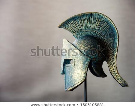 image of ancient helmet Stock photo © tiero