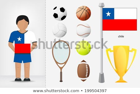chilean volleyball team stock photo © bosphorus