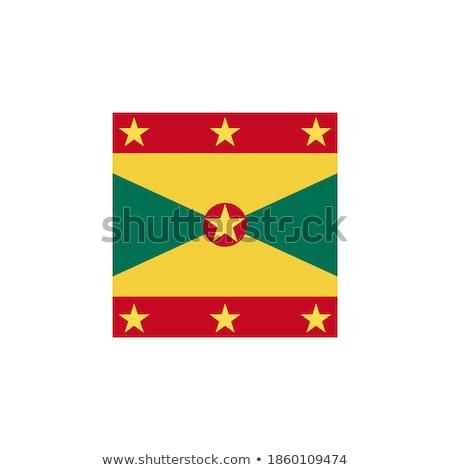 Gomb Grenada térkép vidék térképek Amerika Stock fotó © Ustofre9