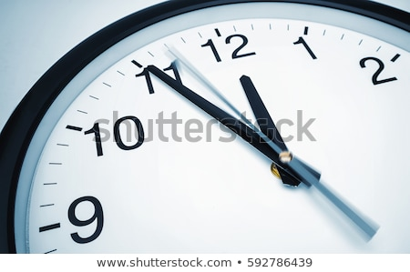 риск · время · часы · белый · красный - Сток-фото © thomaseder