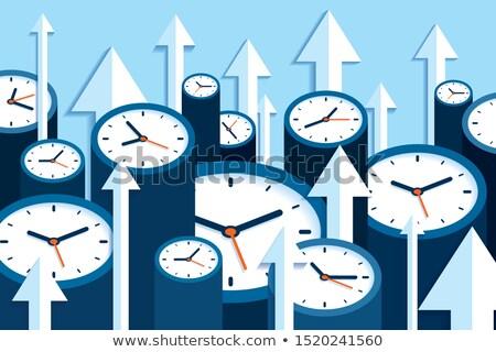 tijd · verplaatsen · business · werk · reizen · communicatie - stockfoto © tashatuvango