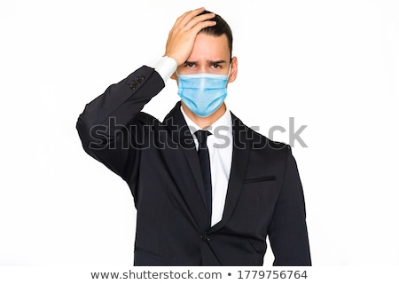 Unhappy businessman Stock photo © smithore