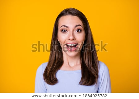 brunette attractive lady stock photo © neonshot