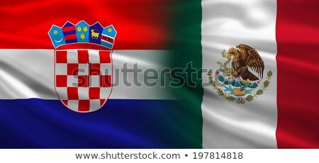 Kroatië vs Mexico groep fase wedstrijd Stockfoto © smocker03