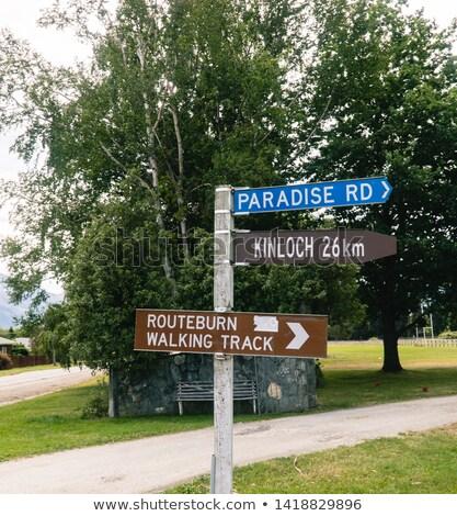 パーティ · 幹線道路の標識 · 緑 · 雲 · 会議 · 通り - ストックフォト © tashatuvango