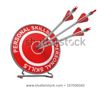 Investigation - Arrows Hit in Red Target. Stock photo © tashatuvango