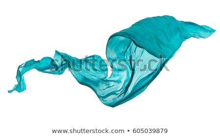 Light blue Smooth elegant cloth texture Stock photo © alexmillos