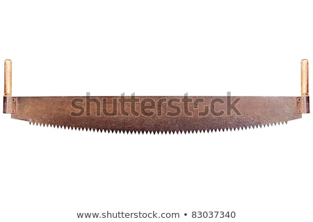 used hand saw stock photo © taigi