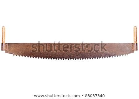 Utilisé main vu dents isolé construction Photo stock © Taigi