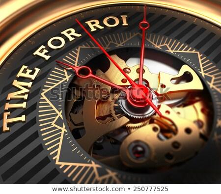 время roi Смотреть лице механизм полный кадр Сток-фото © tashatuvango