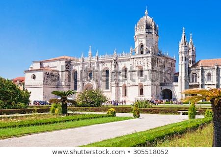 Lisbonne Portugal vieux fontaine église Voyage Photo stock © neirfy
