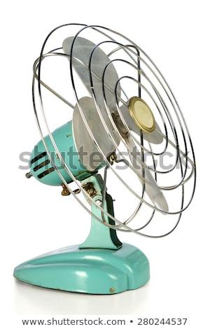 Vintage вентилятор торговых путешествия ветер белья Сток-фото © Bunyakina_Nady