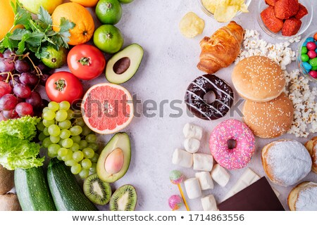 Nutrition Decision Stock photo © Lightsource