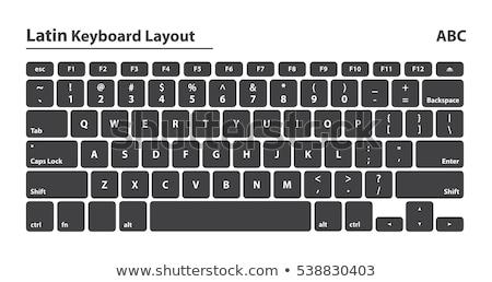 電子 コレクション 現代 ノートパソコンのキーボード 英語 文字 ストックフォト © nemalo