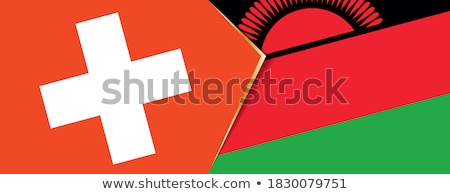 Switzerland and Malawi Flags Stock photo © Istanbul2009
