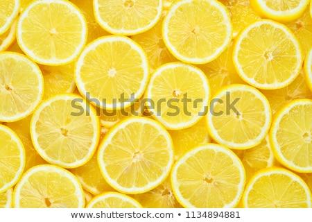 lemon slice in water Stock photo © w20er