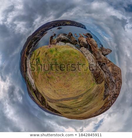 Olho de peixe Irlanda paisagem verão tempo Foto stock © mady70