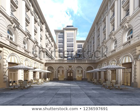 Viennese Classical style building, Austria, Europe Stock photo © ilolab