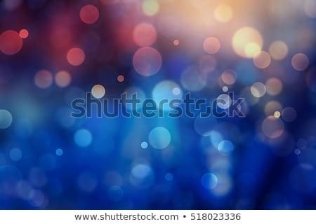 Stockfoto: Abstract · bokeh · golven · vector · groene · zwarte