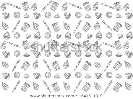 Art Paper. White lined paper seamless vector texture. Paper back Stock photo © pashabo