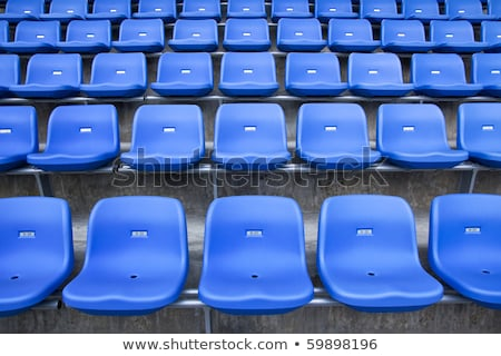 stadium green bleachers stock photo © luissantos84