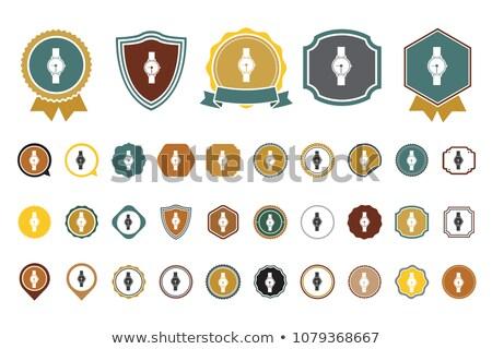 Bratara simboluri negru piele Imagine de stoc © blackmoon979
